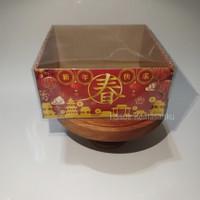 Cake Box, Box tart, Dus kue Imlek Bon Appetit 22 x 22 x10 cm