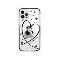 Heart Frame (Black) - X-Tech Bumper Case