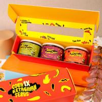 Sambal Eatsambel Paket Sambel 3 Varian Botol Sambel Geprek Cumi Ijo
