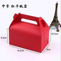 Box hantaran merah   parcel box merah   kotak kue imlek  kotak hadiah