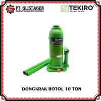 Dongkrak Botol 10 Ton Tekiro Hydraulic Bottle Jack Dongkrak Mobil 10T