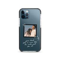 Sweet Message Horizontal (White) - X-Tech Bumper Case