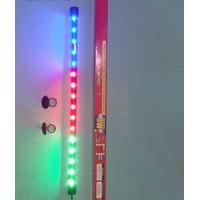 Lampu LED Aquarium Ikan Celup 50 cm 3 Warna 9 Watt Gaxindo GX-L1523