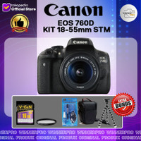 KAMERA CANON EOS 760D KIT 18-55 STM paketan