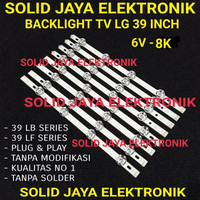 BACKLIGHT TV LG 39LB561T 39LB 39LB561 39LB582 39LB582T LAMPU BL 6V 8K