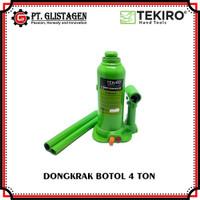 Dongkrak Botol 4 Ton Hydraulic Bottle Jack Dongkrak Mobil Tekiro 4 Ton