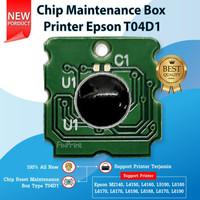 Chip Epson Maintenance Box T04D1 Printer M1140 M2140 M3170 L14150
