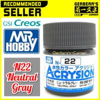 N22 Neutral Gray Acrysion Water Based Acrylic Paint Mr Hobby Original