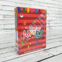Flashcard Huruf Alfabet & Angka - KidSmart Kartu Pintar Mainan Anak