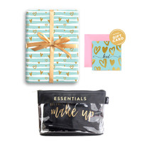 Paket Hadiah Valentine Clear Pouch & Gift Set Harvest - Sweet Heart 4