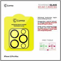 iPhone 12 Pro Max- Copper Tempered Glass Kamera