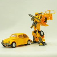 Mainan robot action figure transformers BmB bumblebee vw cars hornets