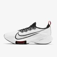 sepatu Nike air zoom tempo next% white/black running men shoes