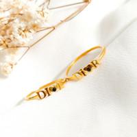 Cincin wanita Branded simple permata cantik Ring Gold shop Emas asli
