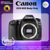 Canon EOS 80D DSLR Camera (Body Only) GARANSI RESMI CANON
