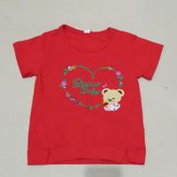 Kaos import anak perempuan bahan lembut halus dan bagus Imlek Sincia