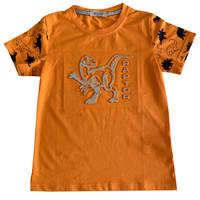 Kaos anak Laki-laki motif Dino Raptor - MOEJOE