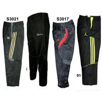 celana training bahan diadora impor dengan kaki seleting