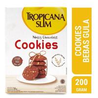 Tropicana Slim Cookies Nutty Chocolate 200gr