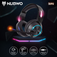 Xiberia Nubwo N11D Headset Gaming with 3.5mm Headphone Interface