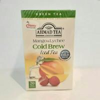 Ahmad Tea Cold Brew Mango & Lychee Iced Tea 40g