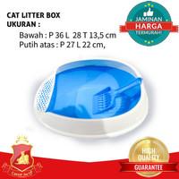 Tempat Pasir Kucing Cat Litter Box Cat Toilet