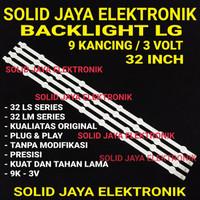 BACKLIGHT LG TV 32LS 3400 3110 3410 32LM 3400 LED 32 INC INCH IN 9K 3V