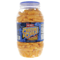 Herr's Herrs Cheese Curls Made With Real Cheese 340g