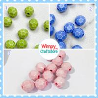 Mote Petak Beads Manik Bahan Aksesoris Payet Gelang Kalung Charm