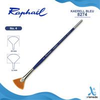 Kuas Lukis Raphael 8274 Angular Kaerell Bleu Synthetic Brush SH