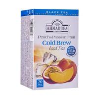 Ahmad Tea Cold Brew Peach & Passion Fruit Iced Tea 40g
