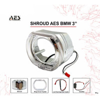 Shroud 3 inch BMW with LED | Shroud BMW with Angel Eyes 3 inch
