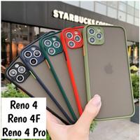 Oppo Reno 4F 4 Pro Softcase Mate Dove Case Aero Full Camera Casing