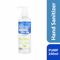 Prima Protect+ Hand Sanitizer Gel 240ml - Tea Tree