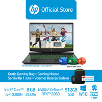 HP Pav Gaming - 15-dk1064tx - 8GB - 512GB SSD - RTX 2060 6GB