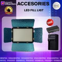 Led photo video fill light H408B Lighthing led for camera dslr