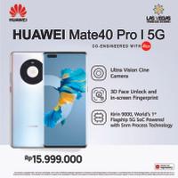 Huawei Mate40 Pro 5G [8+256GB] 66W Huawei SuperCharge Garansi Resmi