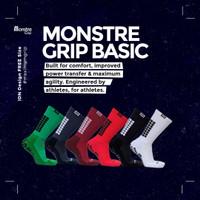 Kaos Kaki Monstre Grip Basic Pendek - Kaos Kaki Anti Slip