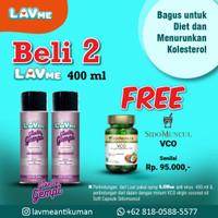 Lavme Anti Virus & Bacterial Spray 400ml - Beli 2 Free VCO Sido Muncul