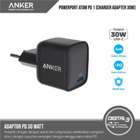 Anker PowerPort Atom PD 1 30W Fast Charge iPhone iPad MacBook USB C EU