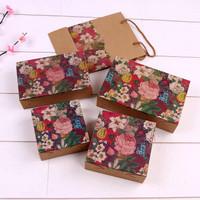 Kotak mooncake hadiah kue souvernir | flower box kotak hantaran small