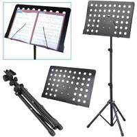 Music Book Sheet Tripod Stand Buku Partitur Piano Karaoke Gitar Biola