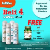 Lavme Anti Virus & Bacterial Spray 85ml - Beli 4 Free VCO Sido Muncul