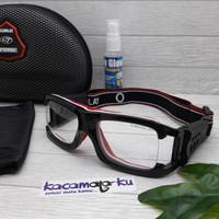 kacamata olahraga lensa minus outdoor futsal basket sepeda