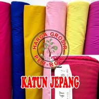 Multi Kain 100% Cotton Katun cotton japan jepang roll per 50 yard