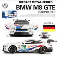 DIECAST MOBIL BMW M8 GTE RACING METAL SERIES 1:32 PREMIUM QUALITY
