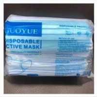50pcs Masker 3 ply Earloop Disposable 3 Layers Mask 3ply Sertifikat CE