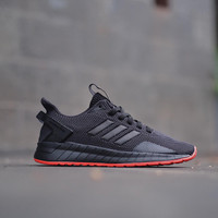 ADIDAS QUESTAR RIDE ALLBLACK ORANGE - 40