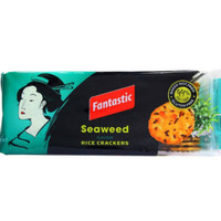 Fantastic Rice Crackers Seaweed 100gr