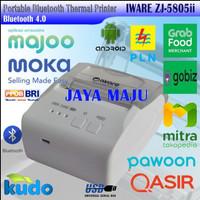 MINI PRINTER KASIR THERMAL BLUETOOTH IWARE ZJ-5805ii RPP02N GOBIZ